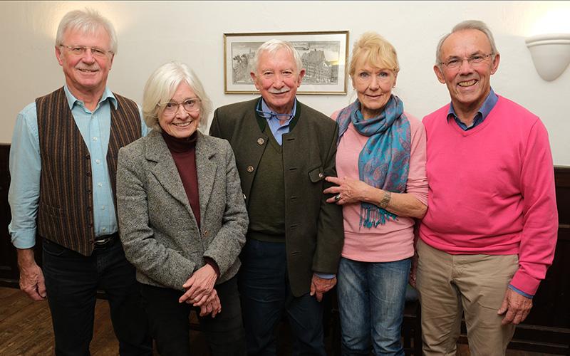 Seniorenbeirat Seefeld nach der Wahl im Oktober 2019